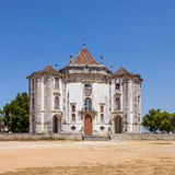 Obidos, Portugal. Church of the Senhor do Jesus da Pedra Sanctuary Stock Photos
