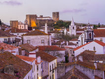 Obidos, Portugal Royalty Free Stock Photos