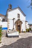 Obidos, Portugal De kerk van Misericordia Royalty-vrije Stock Afbeeldingen
