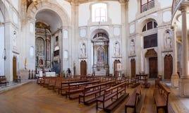 Obidos, Portugal Kirche des Senhor tun Jesus da Pedra Sanctuary Stockfotografie