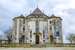 obidos portugal Kyrkan av Senhoren gör Jesus da Pedra Royaltyfri Bild