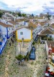 Obidos, Portugal Stock Photography