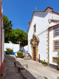Obidos, Portugal. Misericordia Church. Royalty Free Stock Image