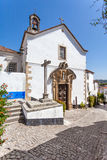 Obidos, Portugal. Misericordia Church. Royalty Free Stock Images