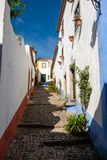 Historic village, Obidos royalty free stock image