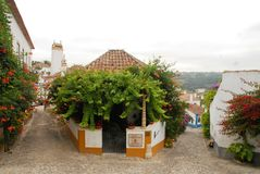 Obidos in Portugal Royalty Free Stock Photography