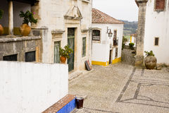 Obidos Portugal Royalty Free Stock Photo