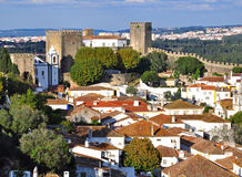Obidos, Portugal Royalty Free Stock Photo