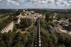 Obidos, Portugal - ville Images stock