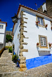 obidos Portugal wioska Zdjęcie Royalty Free