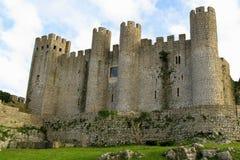 Obidos Schloss Stockbild