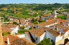 Obidos Town Stock Images