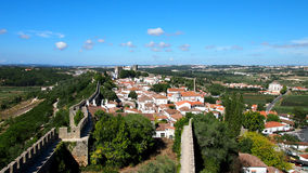 Obidos medieval town in Portugal Royalty Free Stock Image