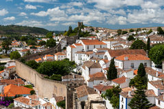 Obidos is a town in the Oeste Subregion in Portugal Stock Images