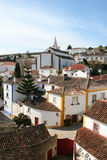 obidos ulicy Obraz Royalty Free
