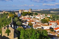 Obidos. Unique village in Portugal Royalty Free Stock Images