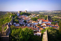 Obidos village Stock Photos