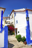 Obidos village at Portugal. Stock Photo