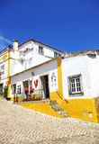 Obidos village at Portugal. Stock Image