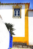 Obidos village at Portugal. Stock Photos