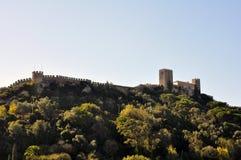 Obidus,葡萄牙 免版税库存照片