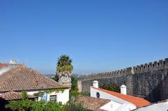 Obidus,葡萄牙 库存照片
