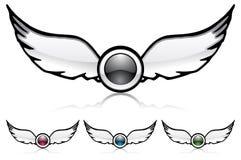 obiektywów skrzydła Fotografia Stock