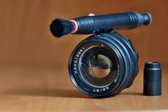 Obiektyw dla ekranowej kamery Zdjęcie Stock
