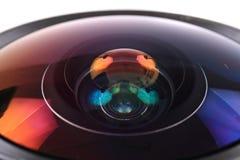 Obiektyw fotografii kamera & x28; objective& x29; Obrazy Stock