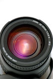 obiektyw kamery fotografia stock