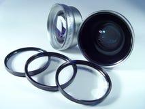 obiektyw kamery Obrazy Stock