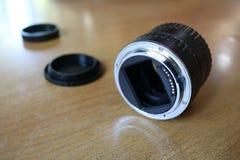 Obiektywu adaptator dla makro- obrazy stock