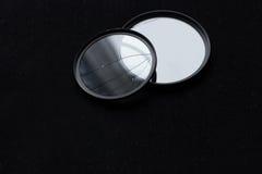 Obiektywu filtr z łamanym szkłem kamery skutka eps10 ilustracyjny obiektywu tęczy wektor Obrazy Stock