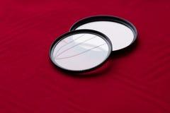 Obiektywu filtr z łamanym szkłem kamery skutka eps10 ilustracyjny obiektywu tęczy wektor Obrazy Royalty Free