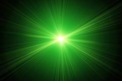 Obiektywu zielony raca Obrazy Royalty Free