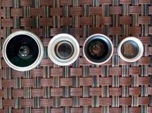 obiettivi Fotografia Stock Libera da Diritti