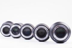 obiettivi fotografia stock