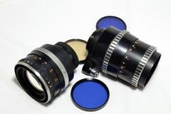 Obiettivi d'annata Fotografia Stock Libera da Diritti