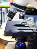 Obiettivi del microscopio Immagine Stock