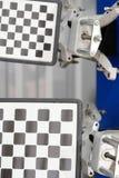 Obiettivi dell'attrezzatura di allineamento della ruota Fotografia Stock Libera da Diritti