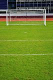 Obiettivi di gioco del calcio Fotografia Stock Libera da Diritti