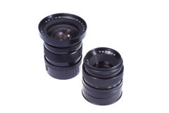 obiettivi di macchina fotografica di Centrale-formato Fotografia Stock Libera da Diritti
