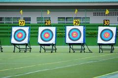 Obiettivi di tiro con l'arco Immagine Stock Libera da Diritti