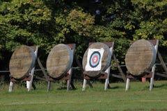 Obiettivi per tiro all'arco Fotografia Stock