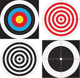 Obiettivi. Vettore. Fotografia Stock