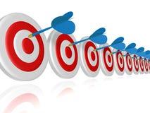 Obiettivo Illustrazione di Stock