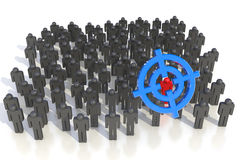 Obiettivo chiuso a chiave Immagine Stock Libera da Diritti