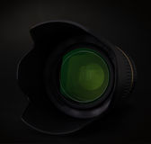Obiettivo con il cappuccio Fotografia Stock Libera da Diritti