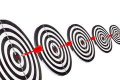 Obiettivo con la freccia Immagini Stock