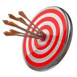 Obiettivo con le frecce royalty illustrazione gratis